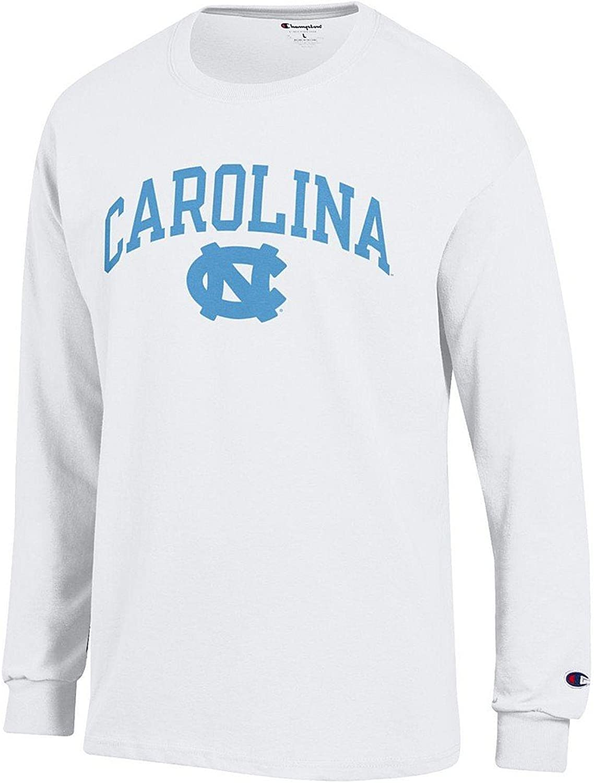 NCAA Mens Long Sleeve Shirt White Arch