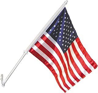 Annin Flagmakers 11-Inch by 14-Inch U.S. Nylon Car Flag and Bracket