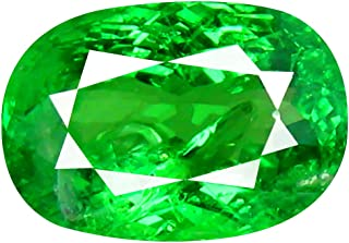 1.90 ct CUSHION CUT (9 x 6 mm) TANZANIAN TSAVORITE GREEN GARNET NATURAL LOOSE GEMSTONE