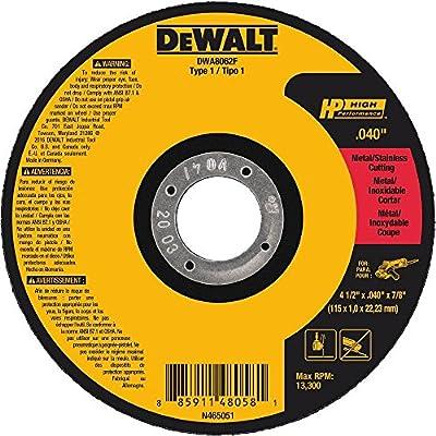 DEWALT T1 HP Fast Cut-Off Wheel
