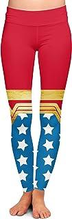 Queen of Cases Wonder Woman Super Hero Inspired Yoga Leggings