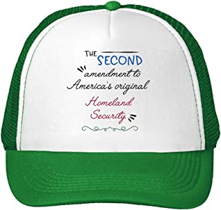 Trucker Hat The Second Amendment America's Original Homeland Security. One Size