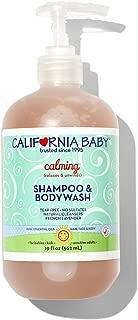 California Baby Calming Shampoo & Body wash, Lavender, 561ml