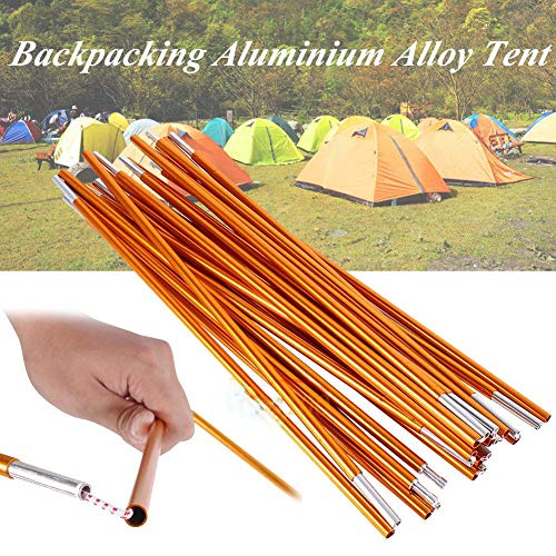 Tent Support Bar for Hiking,2pcs Outdoor Backpacking Aluminium Alloy Tent Pole Support Bar for Hiking Camping Pole for Camping Sunshelter Shelters