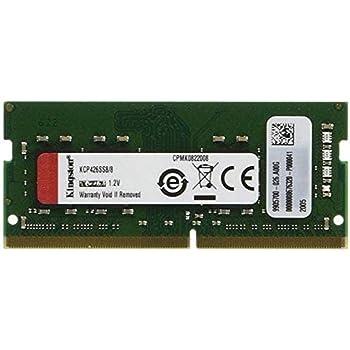【100%互換性】Kingston ノートPC用メモリ DDR4 2666MHz 8GBx1枚 Non-ECC Unbuffered SODIMM CL19 KCP426SS8/8 永久保証
