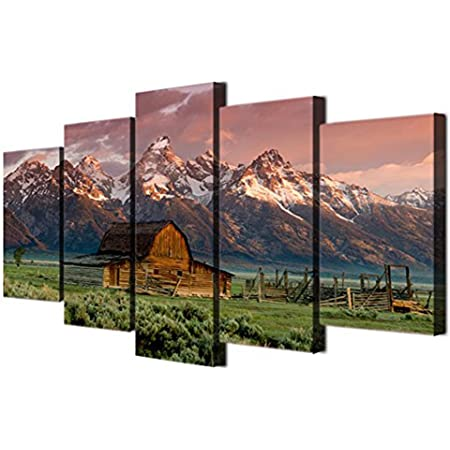 Barn Home Decor Barn Grand Teton National Park WY Poster Art Print