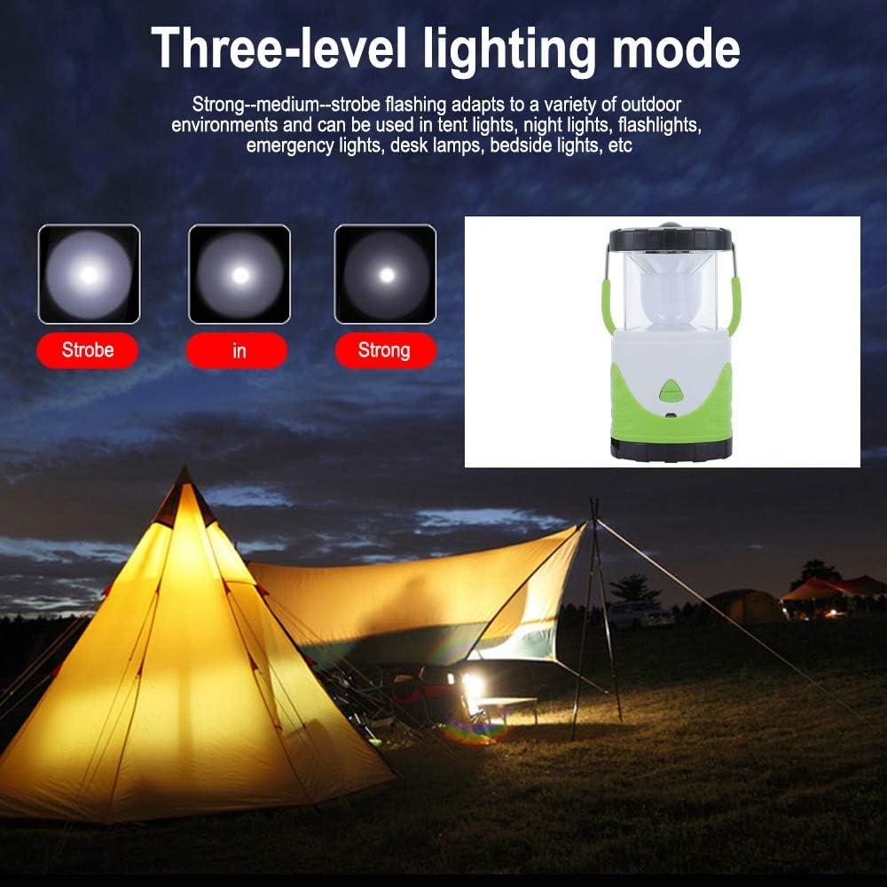 40 W LED dext/érieur t/élescopique 4 modes LEAMER Lanterne de camping lampe de secours /étanche pour camping coupures de courant et plus encore randonn/ée p/êche rechargeable par USB