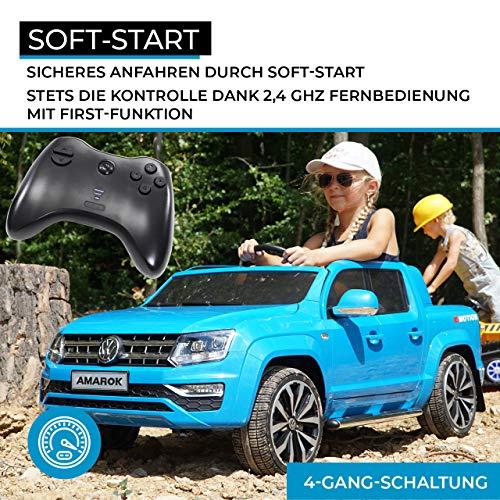 E-Auto für Kinder Volkswagen Amarok SUV Bild 5*