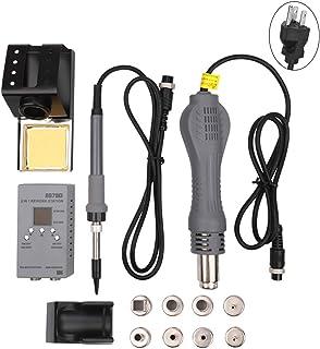 Denret3rgu 13Pcs 2-en-1 Digital MCU retrabajo estación de soldadura eléctrica herramienta de
