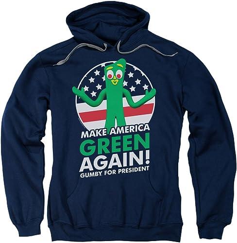 Gumby - - Sweat à Capuche Homme pour Président