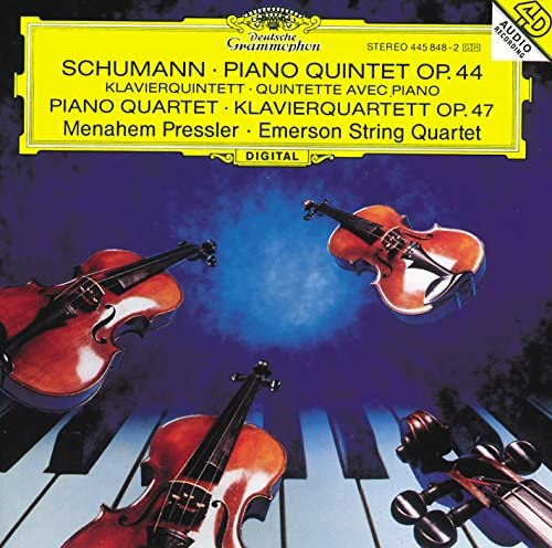 Emerson String Quartet & Menahem Pressler