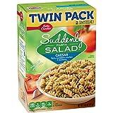 Betty Crocker Suddenly Salad, Caesar Pasta Salad Dry Meals, Twin Pack, 14.5 Oz Box