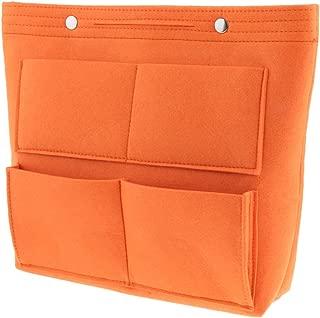 F Fityle Womens Felt Large Travel Insert Organizer Multi-Pocket Handbag Purse Tote