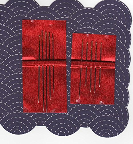 Sashiko Needles - LoRan Gold Eye Sashiko Needles - 10 pack