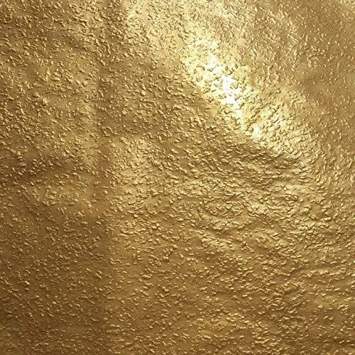 1kg (ca. 1Liter) Effektfarbe Metallic, Metallic Farbe, Wandfarbe, Wand-Farbe, Glitzer Wandfarbe, Farbe mit Glitzer, Glitzereffekt, Glitzer Effekt, Glitter (Gold Metallic)
