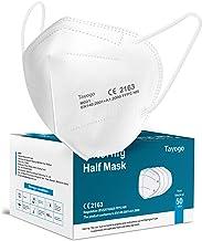 Tayogo Masker FFP2 10/20/50 Stuks CE-Gecertificeerd Mondmasker met 5-laags Filtersysteem Beschermmasker- Stofveiligheidsma...