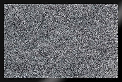 ID MAT Soft Tappeto, Fibre Sintetiche, Grigio, 60x80x0,9 cm