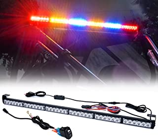 """Xprite 36"""" Rear LED Chase Light Bars, All in One w/Strobe Brake Reverse Turn Signal Light for ATV, UTV, Yamaha, Can-Am Maverick X3, Side by Side and Off Road Jeep Vehicles - RYBYBR"""