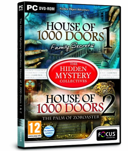 Focus Multimedia, The Hidden Mystery Collectives: House Of 1000 Doors: Family Secrets And House Of 1000 Doors 2: The Palm Of Zoroaster, Dvd Per Pc