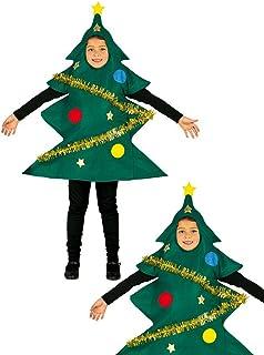 98e19dba5b Costume da albero di Natale bambino 3-4 anni