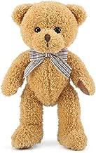 Blppldyci Teddy Bear Stuffed Plush Toys Animals Super Soft Plush Bear Toy Baskets for Christmas 12.5 inch Light Brown