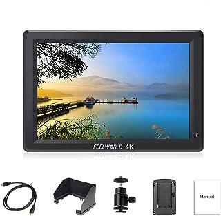 FEELWORLD T756 DSLR On Camera Field Monitor 7 inch IPS Full HD LCD Screen 1920x1200 Video Assist 4K HDMI Input Output Peak...