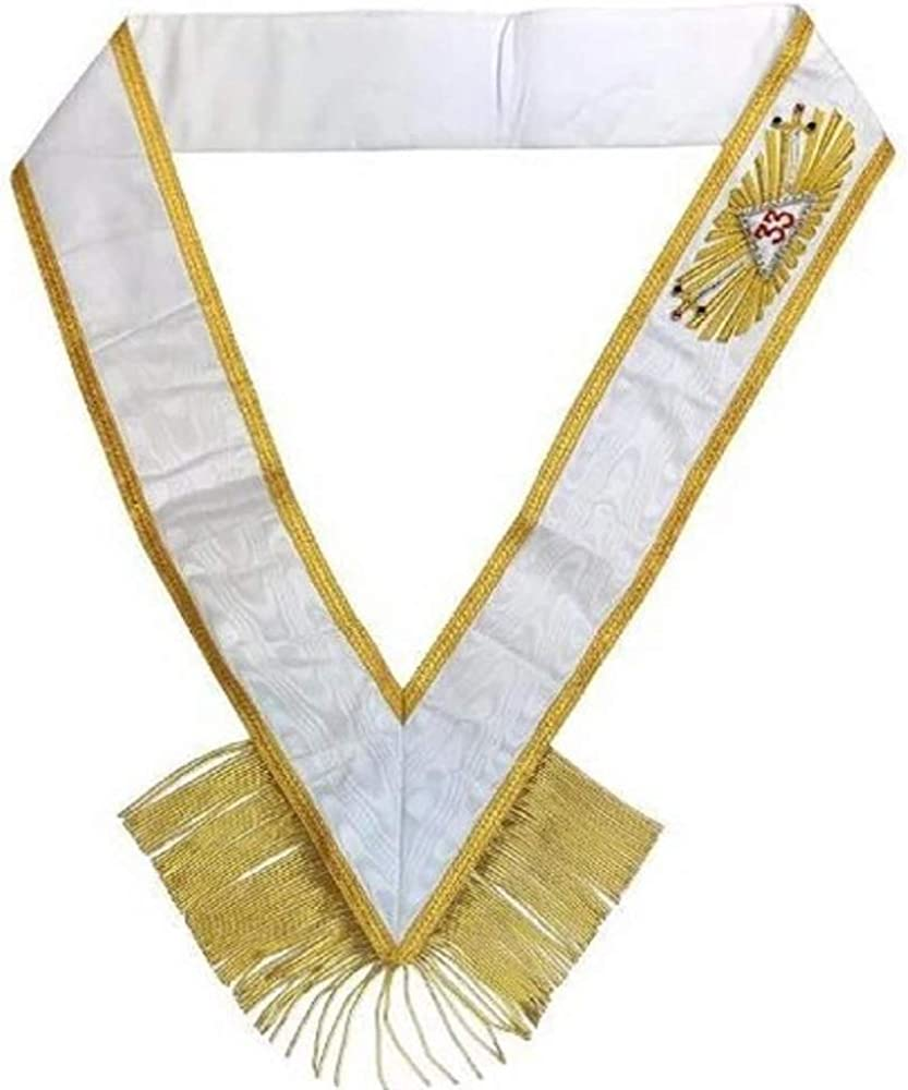 Masonic Regalia Rose Croix 33rd Degree Sash