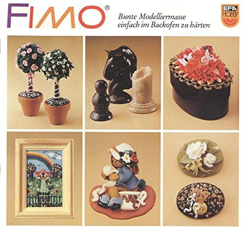 FIMO Bunte Modelliermasse einfach im Backofen zu härten