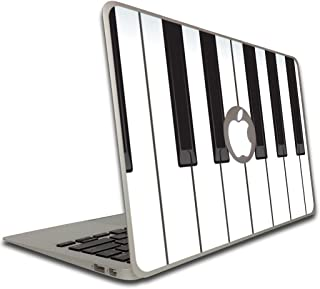 VictoryStore Electronic Device Vinyl Skin Cover - Piano Keyboard Removable Skin for a Macbook Air, Size 11 Inches