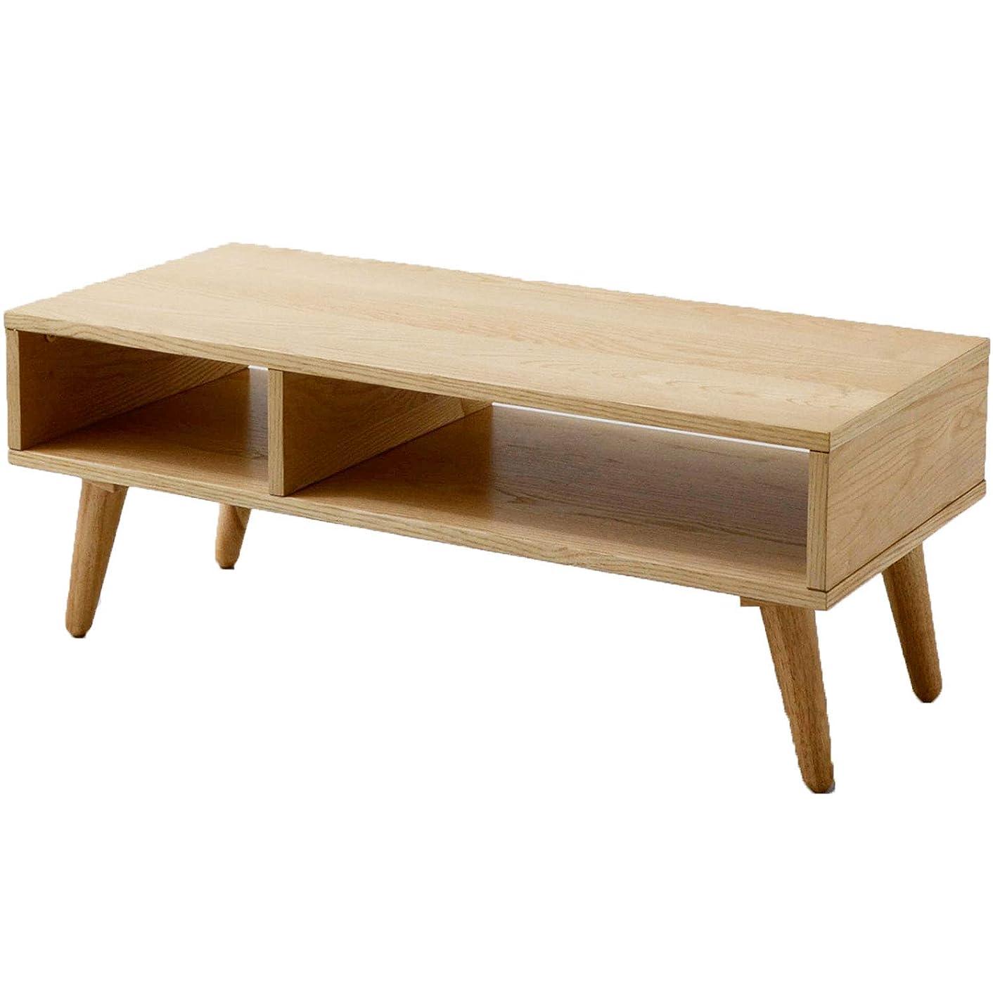 パネル不利焼くエムール テレビ台 テレビボード アッシュ 幅90cm ローテーブル 木製 天然木 コーヒーテーブル 北欧 新生活 コンパクト 一人暮らし