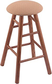 Oak Counter Stool in Medium Finish with Axis Summer Seat