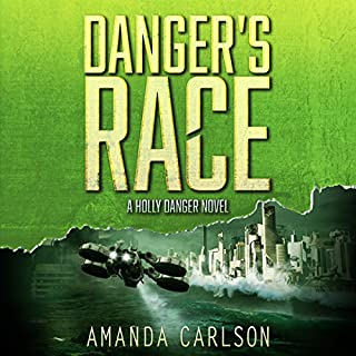 Danger's Race audiobook cover art