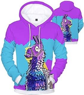 ComicCosplay Fnite Sweatshirt Hoodie w/Pocket   3D Print Sublimation Design Pullover