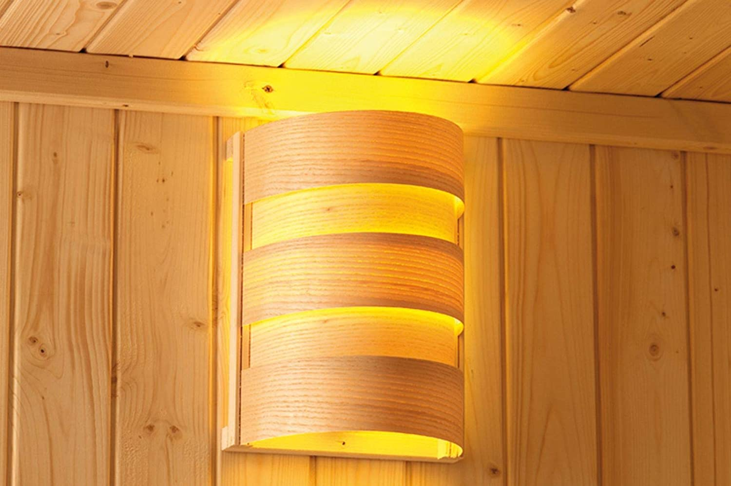 Caribou Classic Sauna Lamp Plug and Play