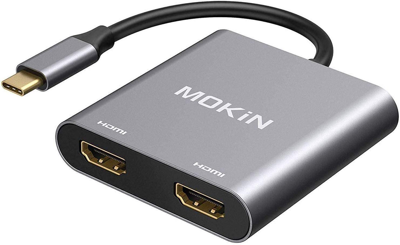 USB Max 72% OFF C Max 46% OFF Dual HDMI Adapter
