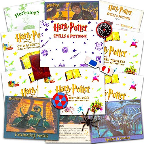 Wizarding World Harry Potter Party Favors Set ~ 6 Magical Activity Kits for Kids (Harry Potter Party Supplies)