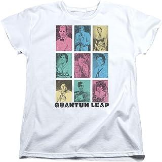 Trevco Quantum Leap Faces of Sam Women`s T Shirt