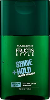 Garnier Hair Care Fructis Style Shine and Hold Liquid Hair Pomade for Men No Drying Alcohol, 4.2 Fl Oz