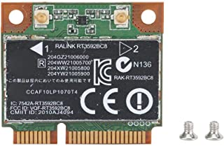 Wendry Wireless Network Card Adapter,BCM94360CD NGFF to PCI-E Converter Adapter Desktop Wireless Network Card Adapter Card,Stable and Durable