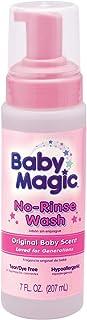 Baby Magic No-Rinse Wash, Original Baby Scent, 7 Ounces