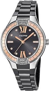 Calypso Reloj Análogo clásico para Mujer de Cuarzo con Correa en Plástico K5720/4