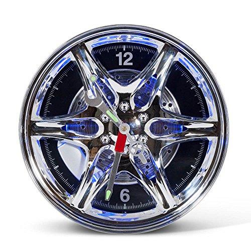 RED5 Reloj de Pared con Ruedas LED [Nuevo Embalaje], estándar