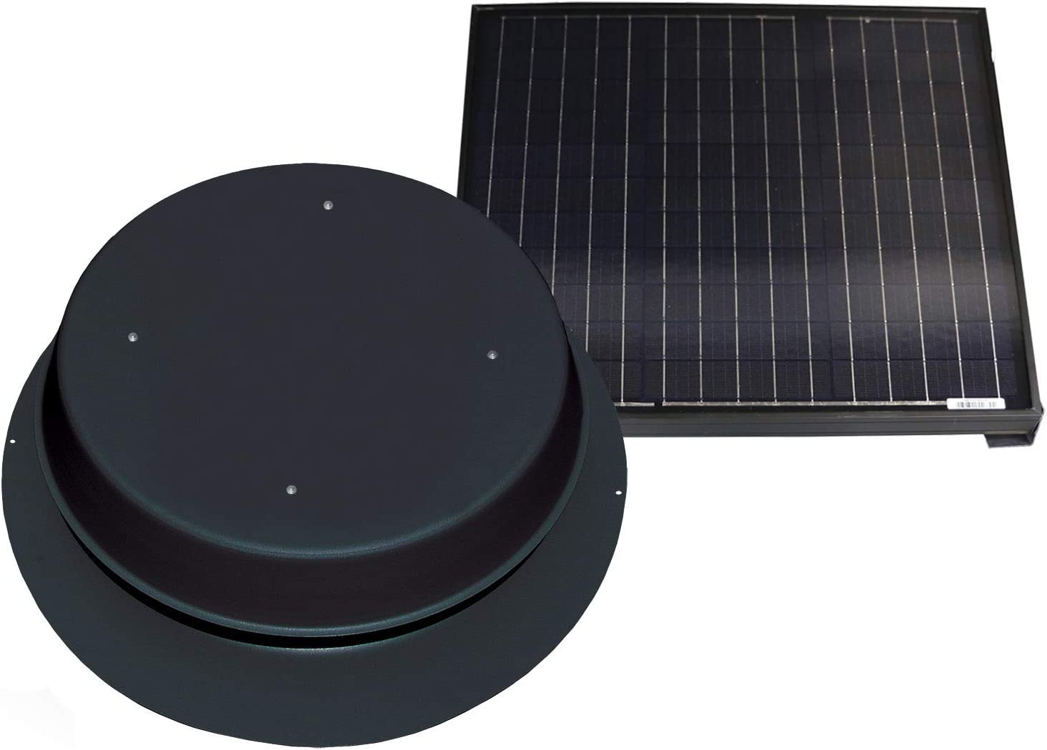 Solar Attic Fan - 65 Watts 3350 Comes sq. with So Remote ft. Virginia Beach Mall Under blast sales