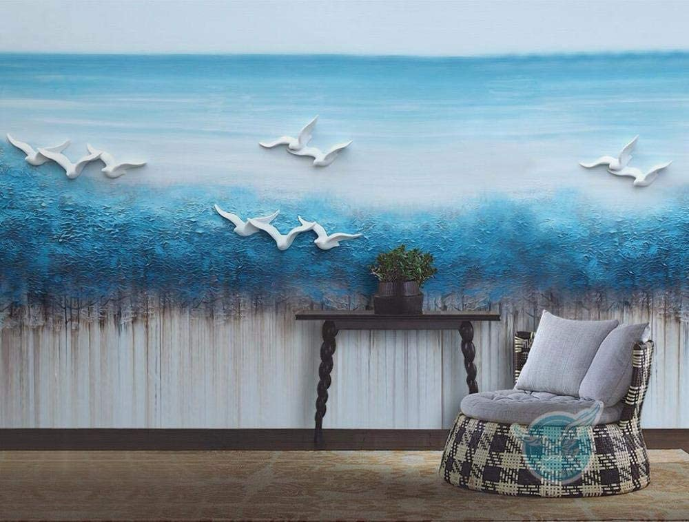 RTYUIHN Wallpaper New Chinese Three-Dimensional Relief Fantas 3D Trust Latest item