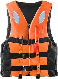 Formitanss Schwimmweste Erwachsene Rettungswesten,Hoher Auftrieb Damen Herren Auftriebshilfe Schwimmjacken f/ür Wassersport Kajakfahren Schnorcheln Bootfahren