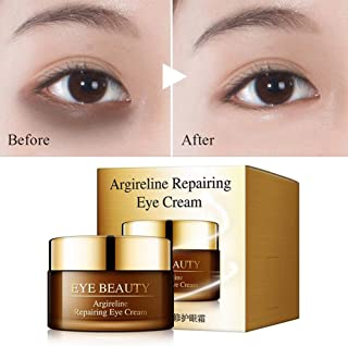Eye Cream Argireline Essence Anti Aging Moisturizing Nourishing Remove Dark Circles Eye Bags Anti Wrinkle Anti Puffiness for Puffy Eye Six Peptide (03)