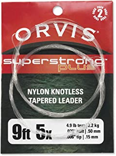 Orvis Fly Fishing - Super Strong Plus Leaders - 2 Pack