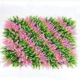 UOEIDOSB Planta de césped Artificial Pared Decorativa Planta de Hierba Falsa Pared decoración al Aire Libre hogar (Color : E)