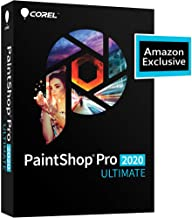 Corel PaintShop Pro 2020 Ultimate - Photo Editing & Graphic Design with ParticleShop Plugin and 5-Brush Starter Pack [PC Disc]