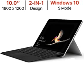 Microsoft Surface Go 10'' Touchscreen (1800x1200) PixelSense Display w/Surface Type Cover, Intel Pentium Gold 4415Y Facial Recognition USB-C Windows Ink Active Windows 10 S Mode 8GB RAM 128GB SSD